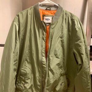 Old Navy Bomber Jacket Green
